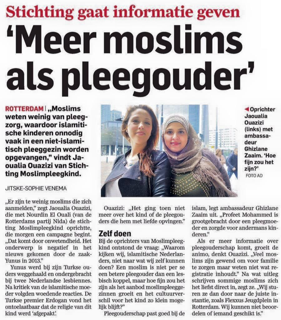 30-05-2015 AD Meer moslims als pleegouders